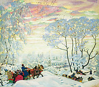 Winter, 1916, kustodiev