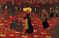Chestnut Gatherers, 1893, lacombe