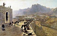 Defense of Bayazet (Doğubeyazıt) , 1891, lagorio