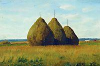 Haystacks, 1878, lagorio