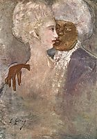 The Mulatto and the Sculpturesque White Woman, 1913, lajos