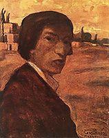 Self-portrait, 1903, lajos
