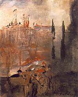 Siege of a Castle, 1910, lajos
