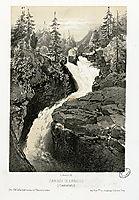 Cascade de Cérizet (Cauteretz (i.e. Cauterets)), lalanne