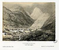 Pic du Midi de Bigorre, vu de Tramesaygues, lalanne