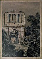 Ruins of the Gallien Palace, lalanne