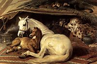 The Arab Tent, 1866, landseer