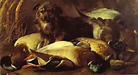 Decoyman-s Dog and Duck, 1845, landseer
