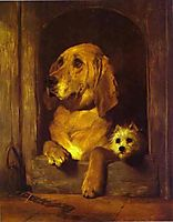 Dignity and Impudence, 1839, landseer