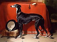 Eos, A Favorite Greyhound of Prince Albert, 1841, landseer