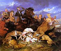 The Hunting of Chevy Chase, 1826, landseer