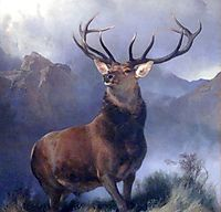 The Monarch of the Glen, landseer