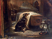 The Old Shepherd-s Chief Mourner, 1837, landseer