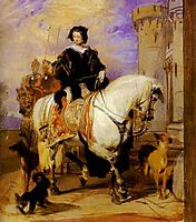 Queen Victoria on Horseback, 1840, landseer