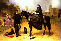 Queen Victoria at Osborne House, 1865, landseer