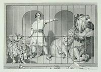 Van Amburgh and his big game cats, landseer