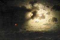 Night at Sea, 1858, larson