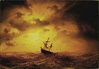 Stormy Sea, 1857, larson