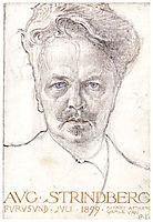 August Strindberg, 1899, larsson