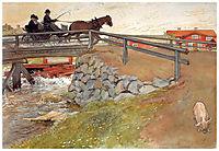 The bridge, 1896, larsson