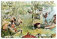 The Crayfish Season Opens, 1897, larsson