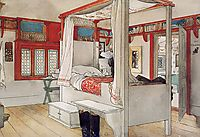 Daddy-s Room, c.1895, larsson