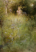 A Fairy Or Kersti And A View Of A Meadow, larsson
