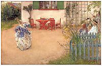 Lisbeth in -Blue bird-, 1900, larsson