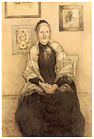 My mother, 1893, larsson