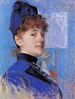 Portrait of Alma, 1887, larsson