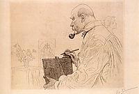 Self-portrait, 1912, larsson