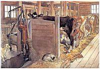 The stable, 1906, larsson