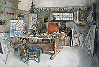 The Studio, 1895, larsson