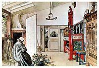 The Studio, c.1895, larsson