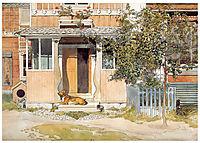 The Verandah, c.1895, larsson