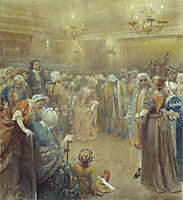 Assembly of Peter I, lebedev