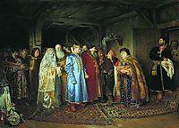 Boyar Wedding, 1883, lebedev