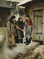 To the son, 1894, lebedev