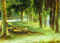 Albano. White Wall, 1837, lebedevmikhail