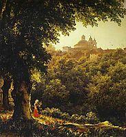 Ariccia near Rome, 1836, lebedevmikhail