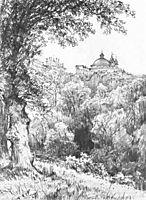 Arricia near Rome, 1835, lebedevmikhail
