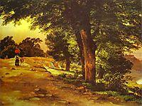 In Giji Park, 1837, lebedevmikhail