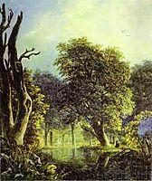 In a Park, c.1833, lebedevmikhail