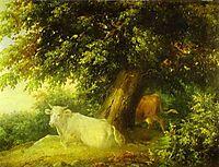 Landscape with Cows, c.1836, lebedevmikhail