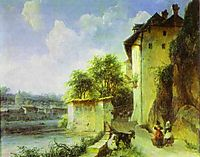 View of Albano, near Rome, c.1836, lebedevmikhail
