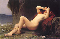 Mary Magdalene In The Cave, 1876, lefebvre