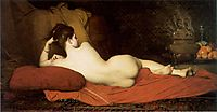 Odalisque, 1874, lefebvre