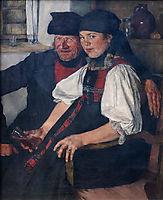 Dag ungleiche Pahr, 1880, leibl