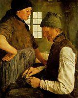 Der Spargroschen, 1877, leibl