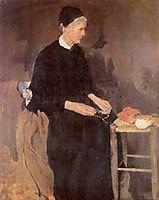 Die alte Pariserin, 1870, leibl